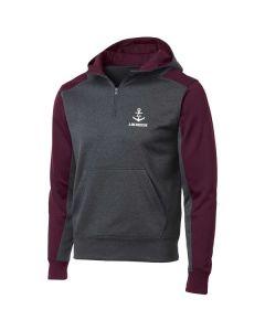 Lockport HS Lacrosse Tech Fleece 1/4 Zip Sweatshirt