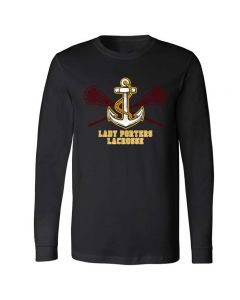 Lockport Girls Lacrosse Long Sleeve Tee Design 2