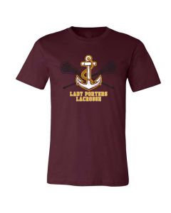 Lockport Girls Lacrosse Short Sleeve Tee Design 2