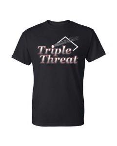 Tremont Triple Threat Softball Short Sleeve Dry Blend T-Shirt