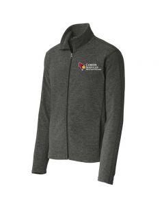 ISU Career Services Men's Microfleece Full Zip Jacket