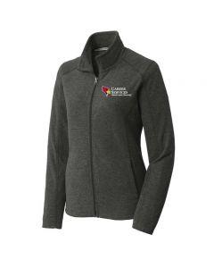 ISU Career Services Ladies Microfleece Full Zip Jacket