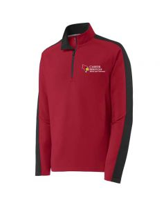ISU Career Services Men's Performance 1/4 Zip Pullover