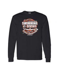 NCHS IHSA Swimming & Diving Sectional Championship Long Sleeve T-Shirt