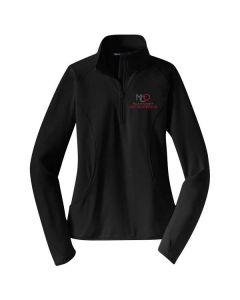 McLean County Orthopedics Sport-Tek Ladies Stretch 1/2 Zip Pullover