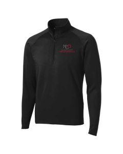 McLean County Orthopedics Sport-Tek Stretch 1/2 Zip Pullover
