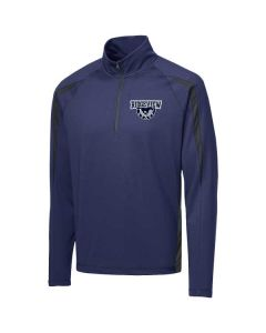 Ridgeview HS Staff 1/2 Zip Colorblock Pullover