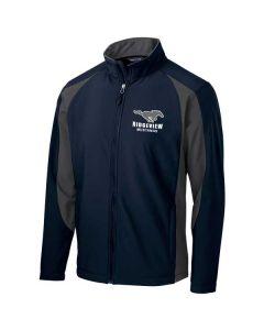 Ridgeview Spiritwear Men's Colorblock Soft Shell Jacket
