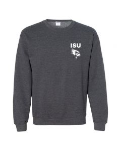 ISU CSD/NSSLHA Crewneck Sweatshirt LC/Full Back