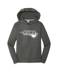 BNBA Youth Performance Fleece Pullover Hooded Sweatshirt