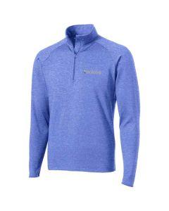 Kwikee Men's Sport-Wick Stretch ½-zip Pullover
