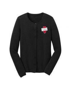 ISAA Port Authority® Ladies Cardigan Sweater