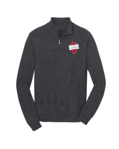 ISAA Port Authority 1/2 Zip Sweater