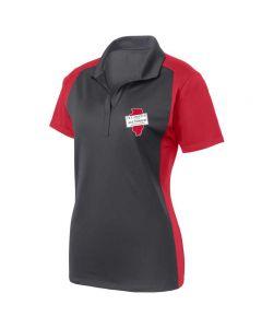 ISAA Sport-Tek® Ladies Colorblock Micropique Sport-Wick® Polo