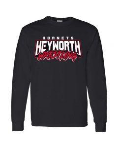 Heyworth Wrestling Long Sleeve Tee