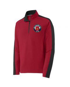 Bloomington Shriners Club Sport-Wick Textured Colorblock 1/4-Zip Pullover