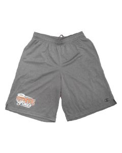 """IHSA State Finals Men's Core Training Short 10"""" (Charcoal Heather)"""