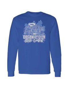 IHSA State Series Music Organization State Contest Long Sleeve Tee