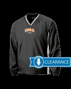 IHSA State Finals Windshirt (Black/White)