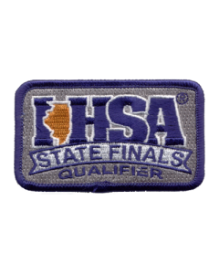 IHSA State Finals Qualifier Patch (Rectangle)