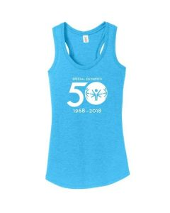 Special Olympics 50th Anniversary Ladies Tank Top
