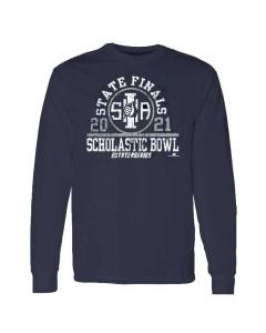 IHSA State Series Scholastic Bowl State Finals Long Sleeve Tee