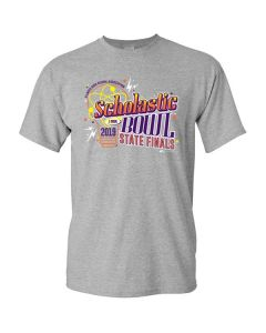 2019 IHSA Scholastic Bowl Short Sleeve T-Shirt