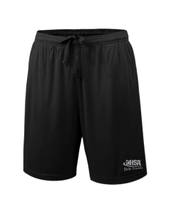 IHSA State Finals Shorts (Black with Grey Imprint)