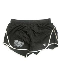 IHSA State Finals Ladies Shorts (Black/White)