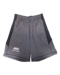 "IHSA State Finals Performance Shorts 10"" (Black Heather/Black)"