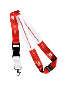 Special Olympics 50th Anniversary Lanyard
