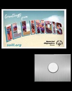 SOILL Virtual Summer Games Rectangle Lapel Metal Pins