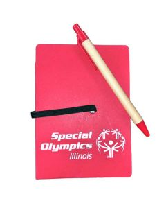 SOILL Special Olympics Notebook with Pen