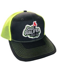 SOILL Ball Cap (Steel/Neon Yellow)