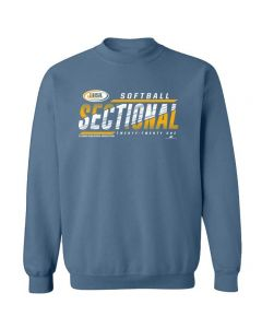 2021 IHSA Softball Sectional Crewneck Sweatshirt