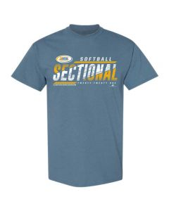 2021 IHSA Softball Sectional Short Sleeve Tee