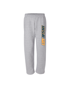 IHSA State Finals Sweatpant (Grey with Navy, White and Orange Imprint)