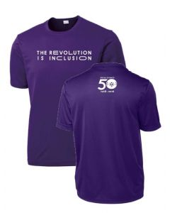 Special Olympics 50th Anniversary Revolution is Inclusion Performance Tee