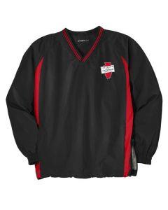 ISAA Sport-Tek® Tipped V-Neck Raglan Wind Shirt