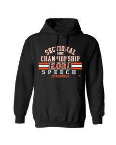 IHSA State Series Speech Sectional Championship Hooded Sweatshirt