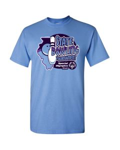 2018 SOILL State Bowling Tournament Short Sleeve T-Shirt