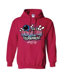 2019 SOILL State Bowling Tournament Hooded Sweatshirt