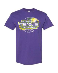 2019 SOILL State Tennis Tournament Short Sleeve T-Shirt