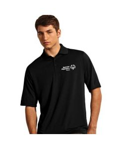 SOILL Men's Short Sleeve Polo (Black)
