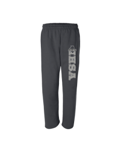 IHSA State Finals Sweatpant (Black with Grey and White Imprint)