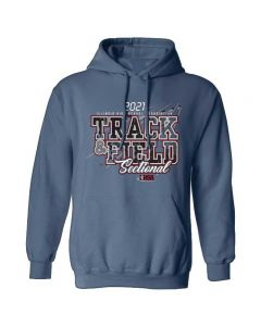 2021 IHSA Track and Field Sectional Hooded Sweatshirt