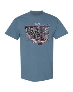 2021 IHSA Track and Field Sectional Short Sleeve Tee