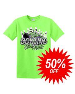 2020 IHSA Girls Bowling Short Sleeve T-Shirt