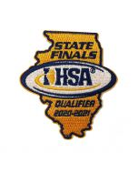 20-21 State Qualifier Patch (State Shaped)