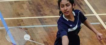 Girls badminton